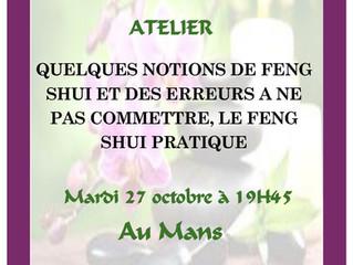 """Prochain Atelier """"Au Mieux Etre"""""""