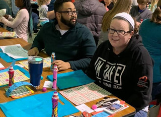 BINGO brings the masses of supporters for Cooking Autism, Inc.!