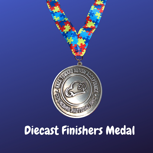 Custom Diecast Finishers Medal