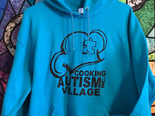 2XL Hooded Village Sweatshirt