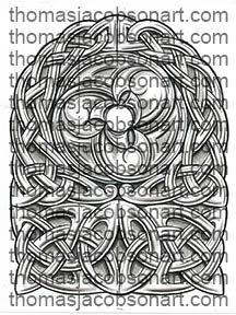 Celtic Half Sleeve Tattoo Art