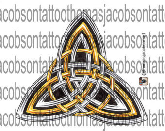 Trinity Knot Tattoo Art