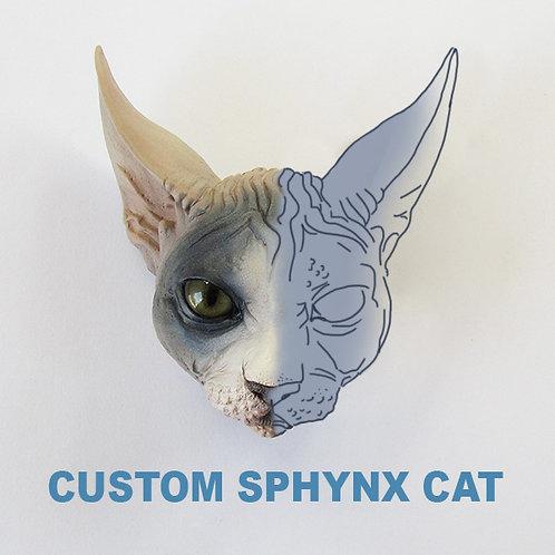 Custom Sphynx Cat