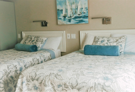 Oceanfront 2 Double Beds