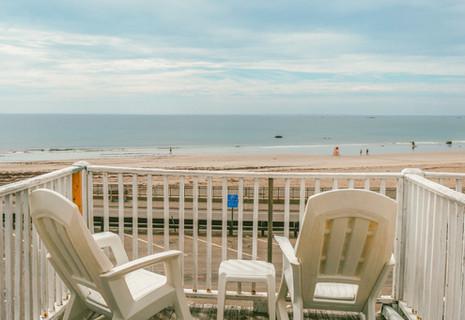 Oceanfront views!