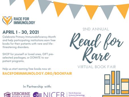 Read for Rare book fair is LIVE!