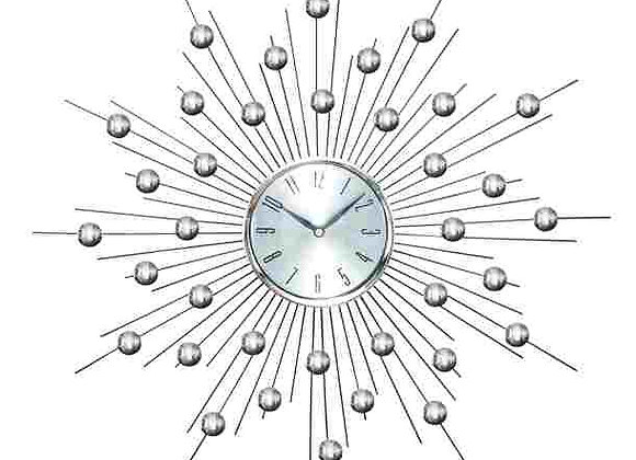 "66965 METAL WALL CLOCK 20""D"