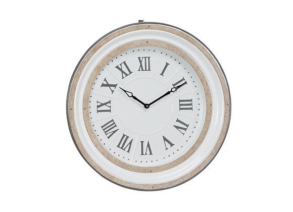 """18963 MTL WALL CLOCK 24""""W, 24""""H"""