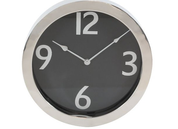 "43512 STEEL RD WALL CLOCK 16""D"