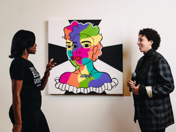Founder Feature: Rico Grant of Gallery at Gumbo and Paloozanoire