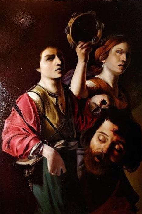 Copie Le triomphe de David de Manfredi