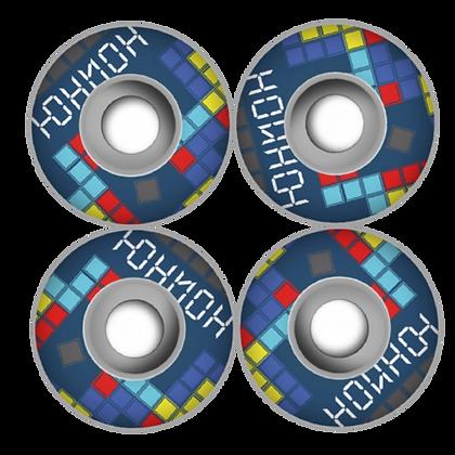 Комплект колес Юнион Tetris, 53mm/101a, F2