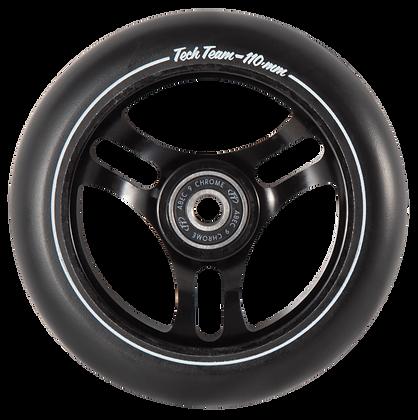 Колеса Tech Team 110мм Форма TRIANGLE  black
