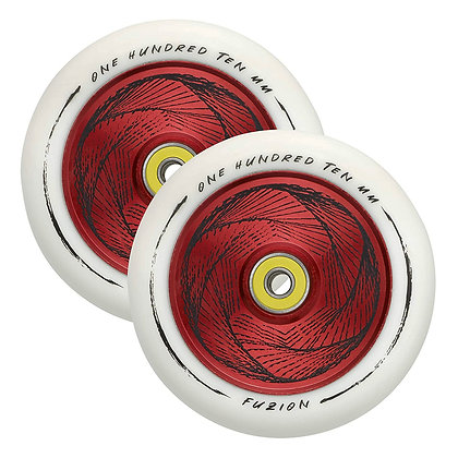 Колеса  Fuzion 110 mm Hollowcore  Marker/ White Red