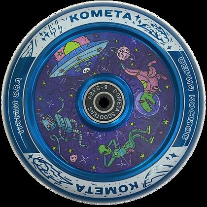 Колеса  Комета Чиллзон (Прозр.синий / Синий)