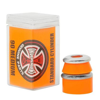 Independent Standard Cylinder Cushions Medium (90a) Orange