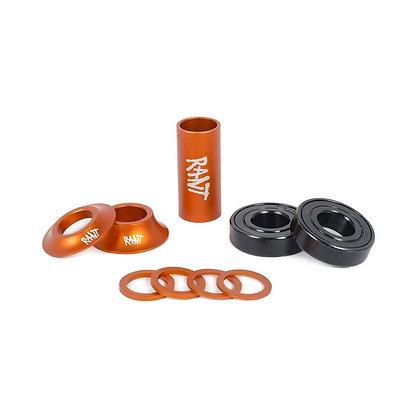 Каретка RANT Bang Ur Mid Bottom Bracket Orange 22mm