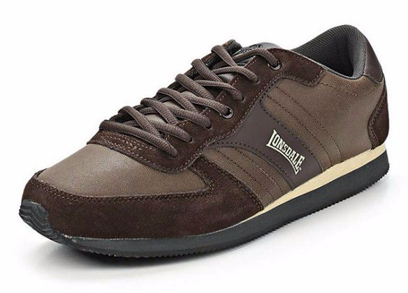 Кроссовки Lonsdale Coniston Distress Brown/Taupe/Charcoal