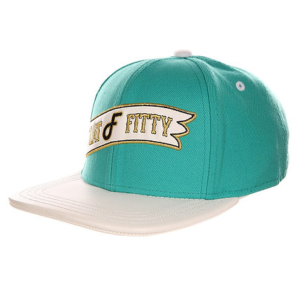 Кепка FLATFITTY Retro Flag Strap Back Teal