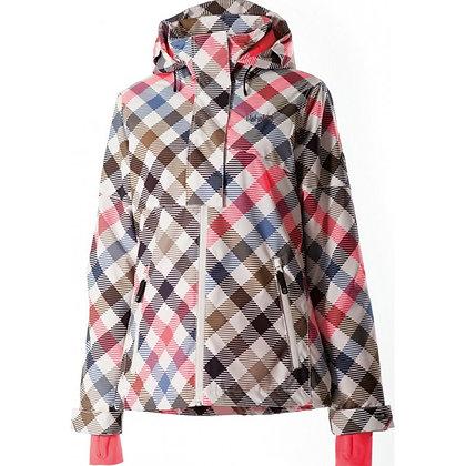 Куртка SUSI AOP Slanted Checks Neon Coral