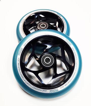 Комплект колес Blunt Prodigy 120х24mm blue
