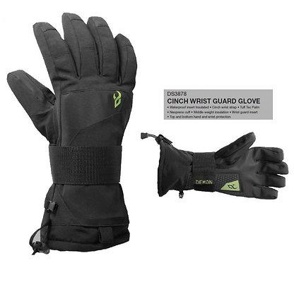 Перчатки  Demon Cinch Wristguard Blk
