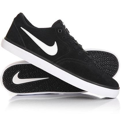 Nike SB Check Solarsoft BLACK/WHITE (843895-001)