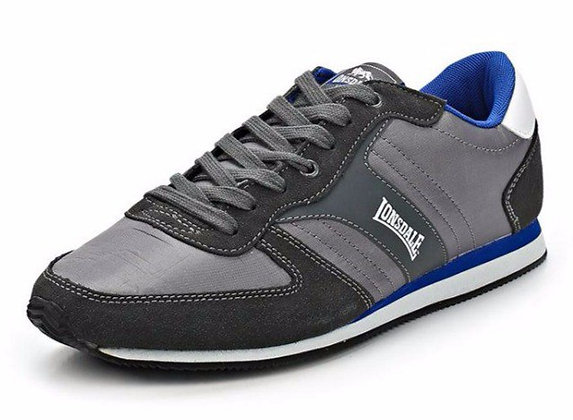 Кроссовки Lonsdale Coniston Grey/White/Blue