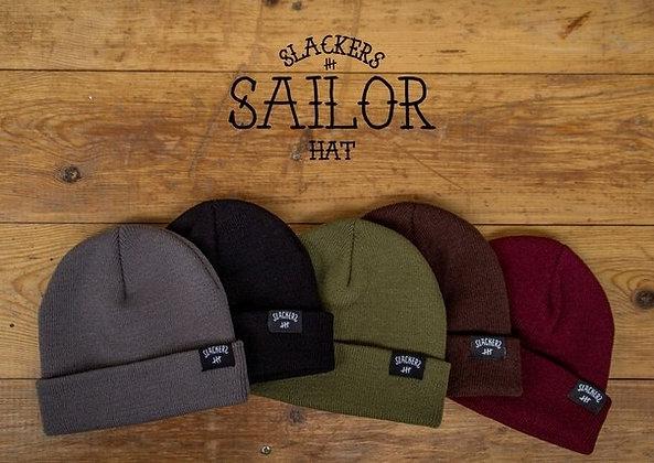 Шапка SLACKERS sailor hat (бордо)