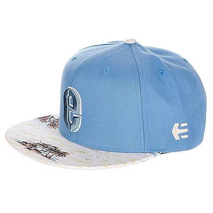 Кепка ETNIES Rook Snapback Hat blue/wht