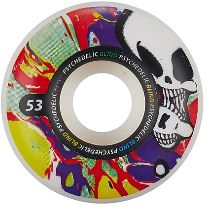 Колеса Blind Psychedelic Reaper Purple/Red 53mm