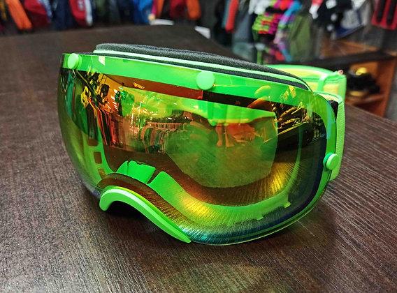 Маска Vizzo Spherix  green/gold ionized
