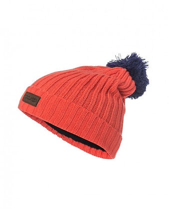 Шапка Rip Curl  POMPOM JR BEANIE HOT CORAL