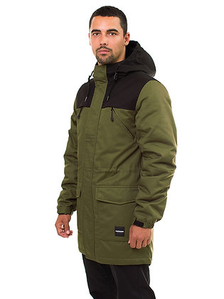 Парка Footwork URBAN FISHTAIL GREEN/BLACK