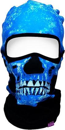 Балаклава Flavour ALPHA  SKULL BLUE