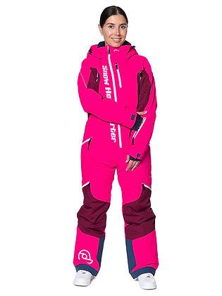 Комбинезон SNOW HEADQUARTER розовый
