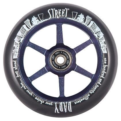 Комлект колес TechTeam 120мм 6ST (для самоката Street Dady)