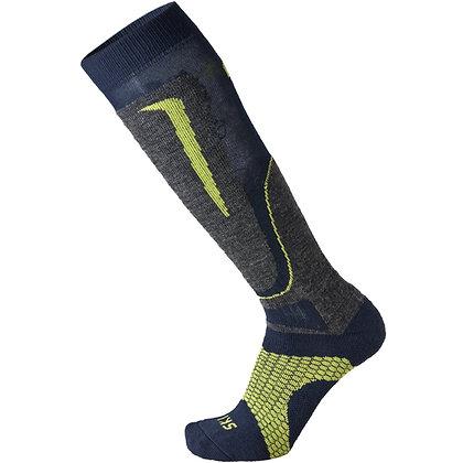 Термоноски MICO Basic ski sock in wool 033antracite