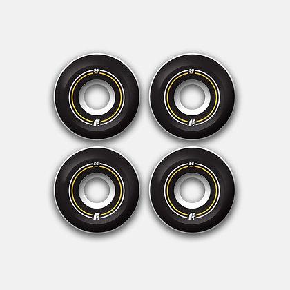 Комплект колес Footwork BASIC (56 мм 100A Форма Sidecut )