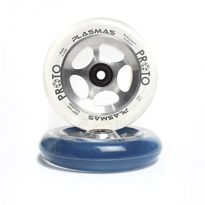 Колеса Proto Plasma 110 мм Clear/Silver