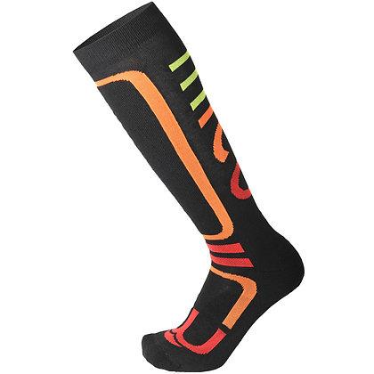 Термоноски MICO Performance  socks in Thermolite  277nero arancfluo