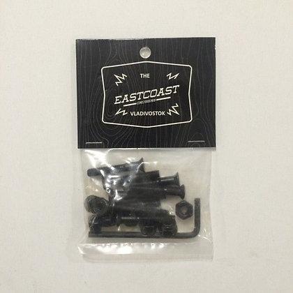 Комплект винтов Eastcoast шестигранник, с ключом (Длинна 1.5'' )
