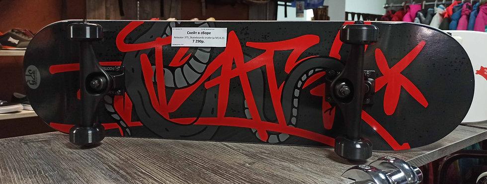 Скейтборд в сборе Anteater 375_Skateboards-snake