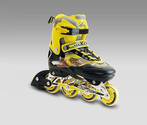Коньки роликовые Max City Rover yellow