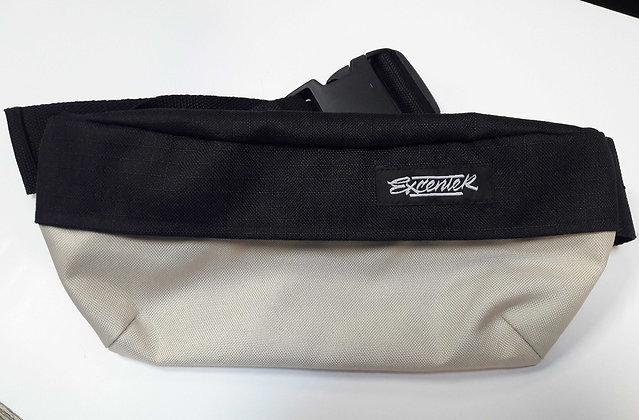 Поясная сумка Excenter черно-бежевая