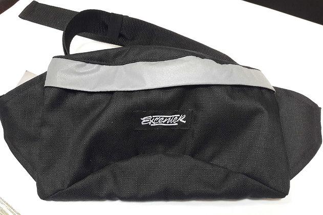 Поясная сумка Excenter черная со свет.