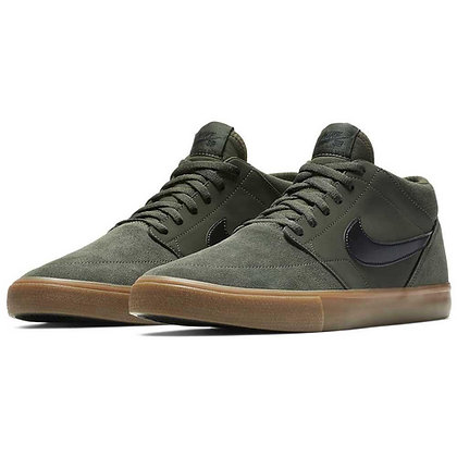 Nike SB Solarsoft Portmore II Mid Sequoia Gum Medium Brown Black