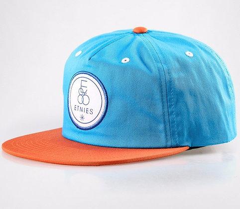Кепка ETNIES Lasalle Snapback Hat orange/blue