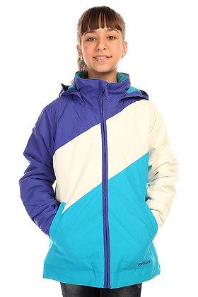 Куртка Burton GIRLS HART SORCERER/WHT/ANTIDT