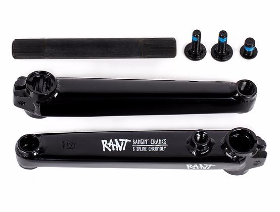 Шатуны RANT Bangin' 8 Cranks Gloss Black 170mm